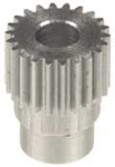 02822  Pinion  22   Teeth Dia.  5mm  Module  0.5