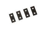 04605 Servo distance plates, LOGO 500/600 chassis