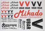 04901 VBar / VControl Decal Set