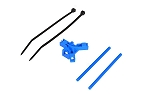 04961 Antenna support for tailboom, blue