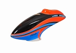 04930 Canopy LOGO 600 SX V2 neon-red/blue