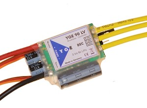04731 ESC YGE 90 LV with power BEC