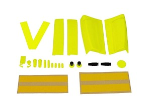 05076 Custom Line upgrade kit neon-yellow, VBar Control