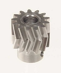 04413  Pinion  for  herringbone  gear  13 teeth  M1 Dia.6mm