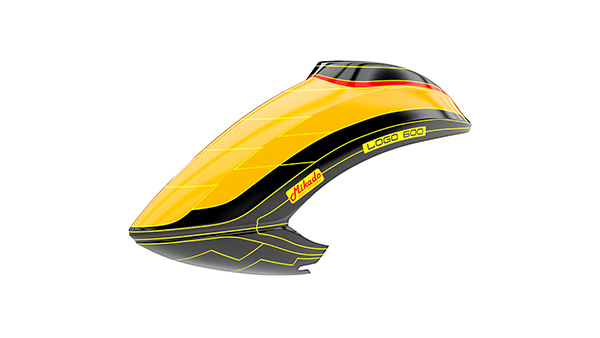 05189 Canopy LOGO 600 Orange/Black/Yellow