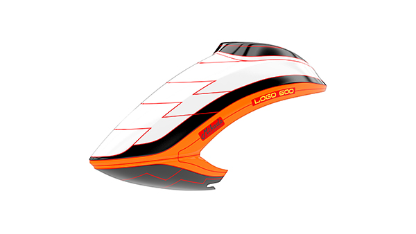 05183 Canopy LOGO 600 white/black/orange