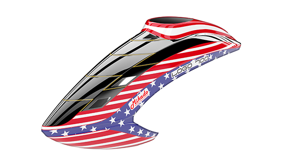 05155 Canopy LOGO 700, Stars & Stripes