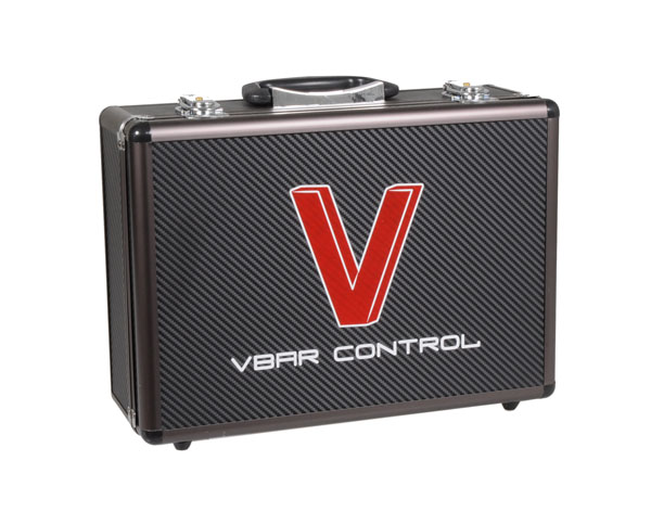 05141 Radio Case Carbon Look, VBar Control