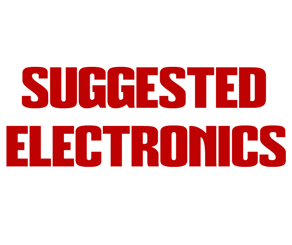 Suggested Electronics