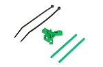 04967 Antenna support for tailboom, green