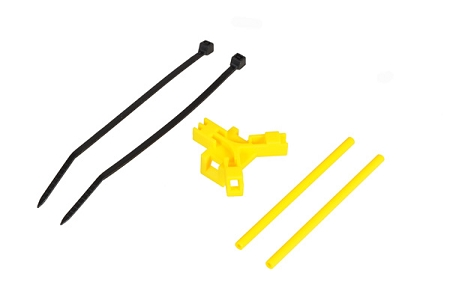 04965 Antenna support for tailboom, yellow