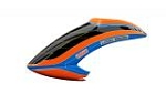 05122 Canopy LOGO 550 SX V3 neon-orange/blue