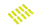 05083 Cover cap for 5.5mm gold connector, neon-yellow