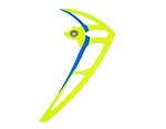 04770 Vertical stabilizer neon yellow