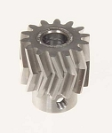 05010 Pinion for herringbone gear 13 teeth 25Á, M1, dia.6mm