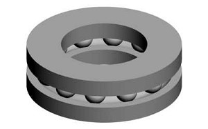 00840 Thrust bearing 8x16x5