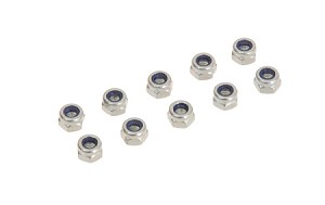 02076 Hex lock nut M4