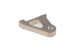 03077 Alu lever holder for carbon tailrotor