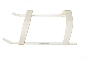 04291 Landing struts low profile LOGO 600 white