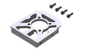 04544 Motor Mounting Plate, LOGO XXtreme