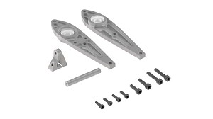 04565 Tail Rotor Case Side Frames, LOGO XXtreme