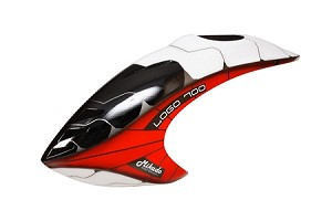 04646 Canopy  LOGO 700 XXtreme, white-red