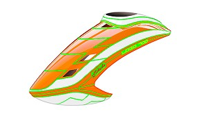 05153 Canopy LOGO 700, neon-orange/white/neon-orange