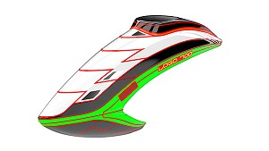 05146 Canopy LOGO 700, white/black/neon-green