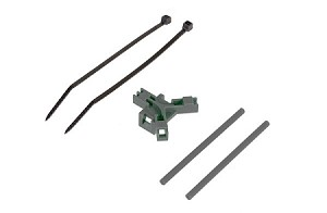 04969 Antenna support for tailboom, gray